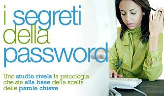 Internet: psicologia della password
